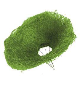 Sisal bouquet verde (10unid) - B-76