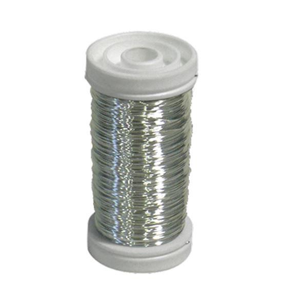 Bobina alambre de cobre barnizado plata - BC-10043