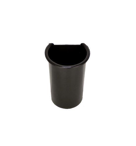Depósito plástico negro - D-65
