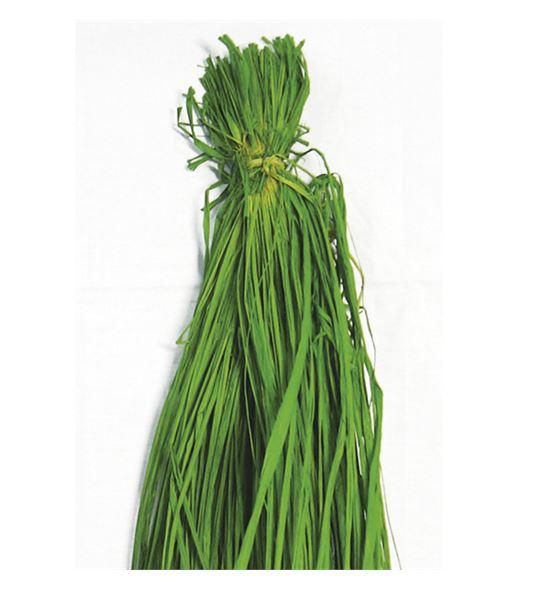 Rafia natural verde 200g - B-31-8