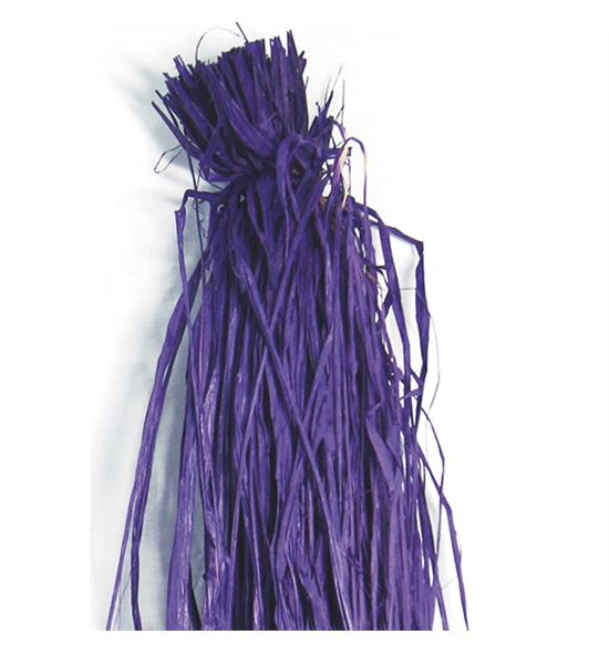Rafia natural violeta 200g - B-31-9