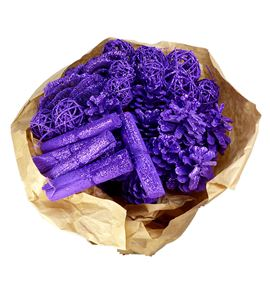 Indian mix purple purpurina x40 - INDPURPUR