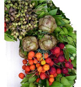Corona frutas ornamentales 30cm - CORFRUORN
