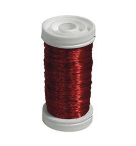 Bobina alambre de cobre barnizado rojo - BC-12170013