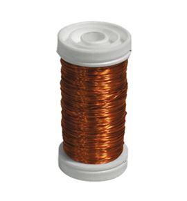 Bobina alambre de cobre barnizado naranja - BC-12170093