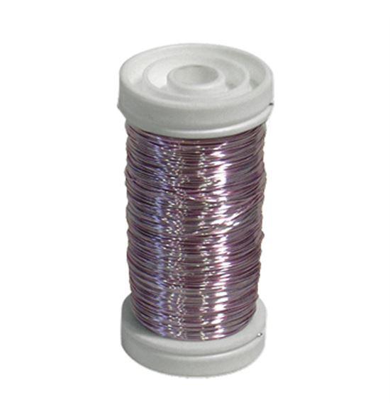 Bobina alambre de cobre barnizado rosa - BC-12170203