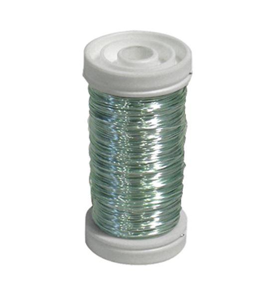 Bobina alambre de cobre barnizado azul hielo - BC-12170353