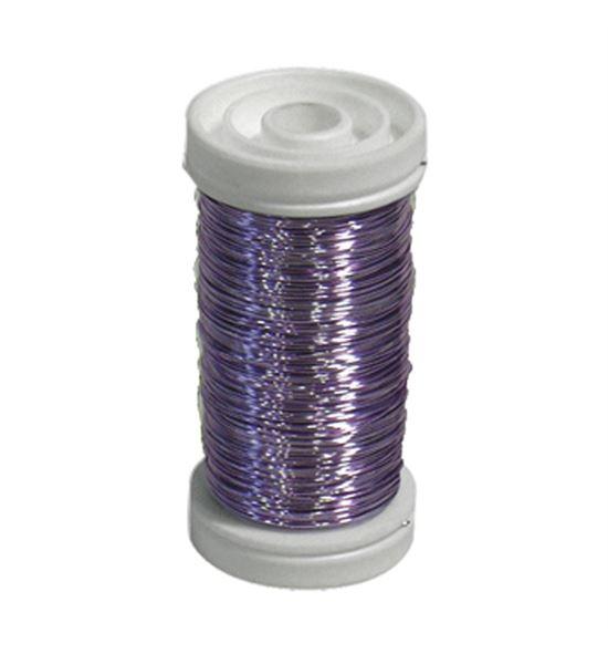 Bobina alambre de cobre barnizado lavanda - BC-12170363