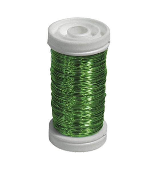 Bobina alambre de cobre barnizado verde - BC-12170153