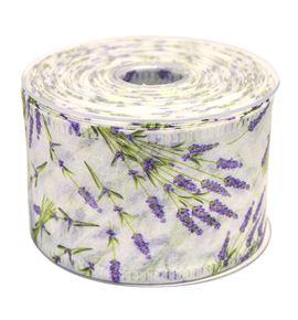 Cinta decofibra lavanda blanca - BM-0486-01