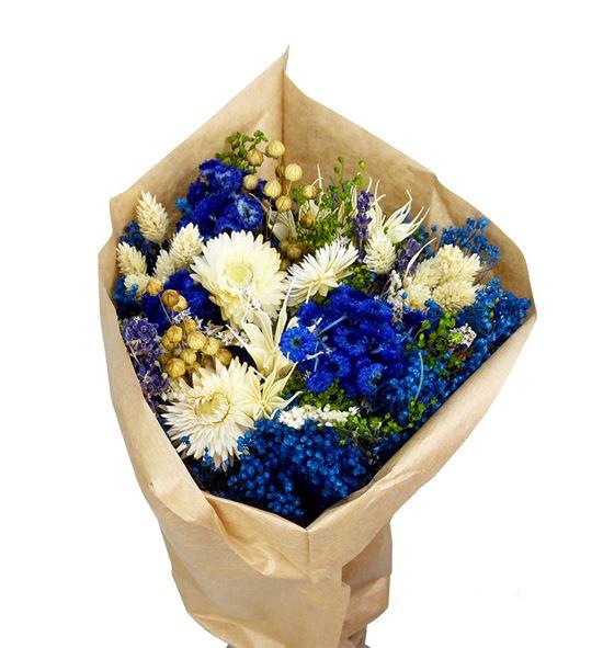 Bqt fantasy azul claro preservado/seco - BQTFANAZUCLA
