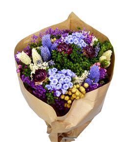 Bqt fantasy lila mini preservado/seco - BQTFANLIL