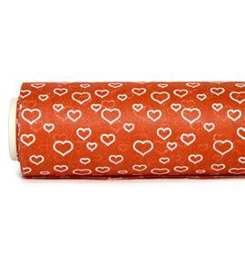 Bobina tnt-decofibra corazones rojo - BH-005-25