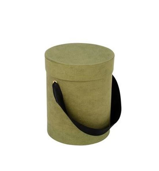 Caja carton fabric 13ø*17cm - CAJCARFAB13