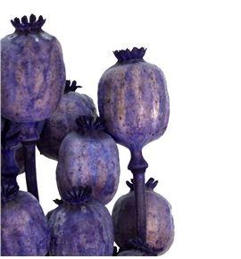 Papaver seco azul oscuro - PAPSECAZUOSC