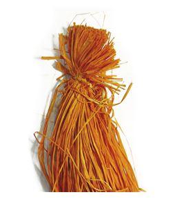 Rafia natural naranja 200g - B-31-3