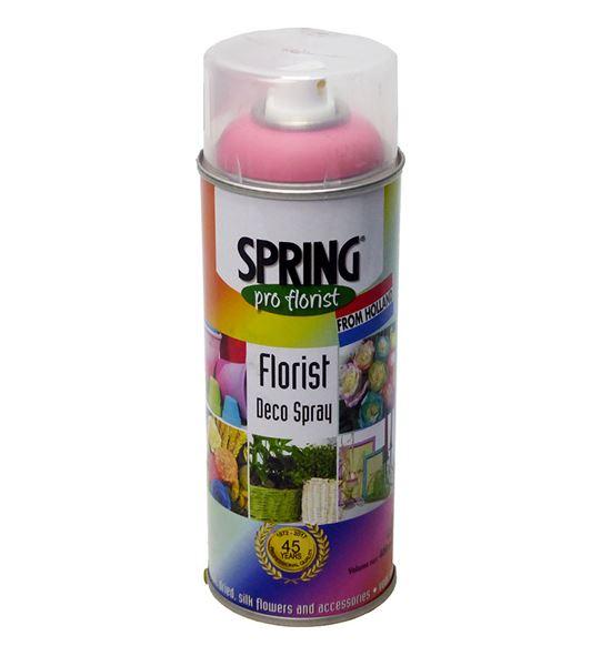 Spray de color para flor natural rosa 400ml - SPRROS