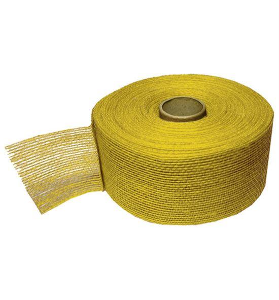 Cinta yute rigido amarillo - B-50-4