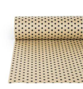 Bobina papel antihumedad karf havanna topos negros - BH-521