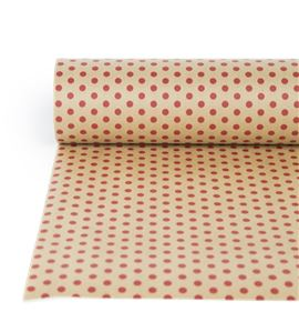 Bobina papel antihumedad karf havanna topos rojos - BH-522