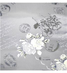 Polipropileno carta postal fondo transparente blanco - BH-280-3