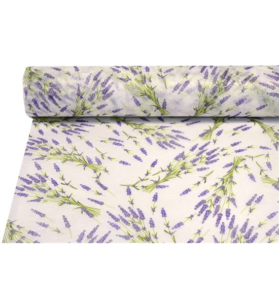 Bobina decofibra lavanda blanca - BH-0490-01