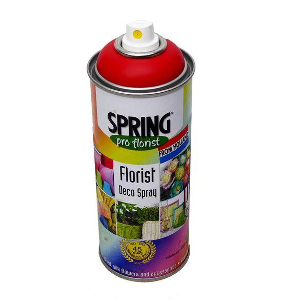 Spray de color para flor natural rojo tange 400ml - SPRROJ