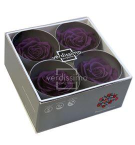 Rosa preservada premium 4 unid rsg/2840 - RSG2840-03-ROSA-PREMIUM
