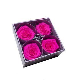 Rosa preservada premium 4 unid rsg/2430 - RSG2430