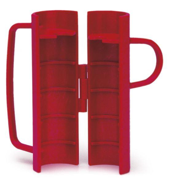 Pelarosas plastico rojo - A-148