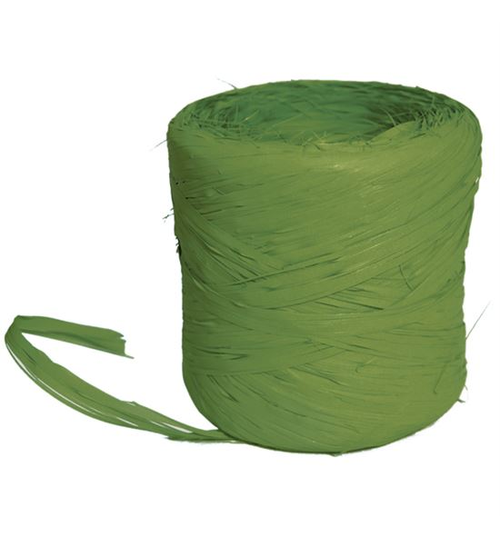 Bobina de rafia verde musgo - BM-89-3