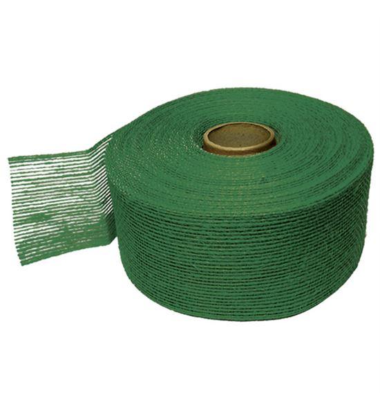 Cinta yute rigido verde - B-50-7