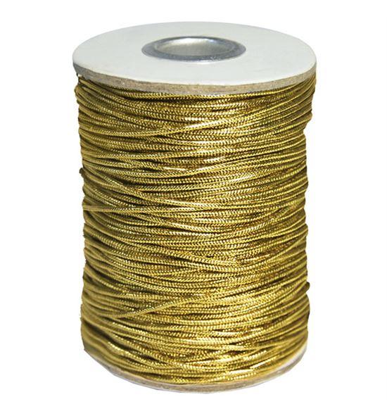 Cordon metalico oro - BM-121