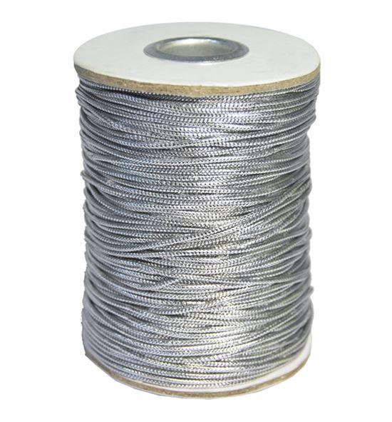 Cordon metalico plata - BM-122