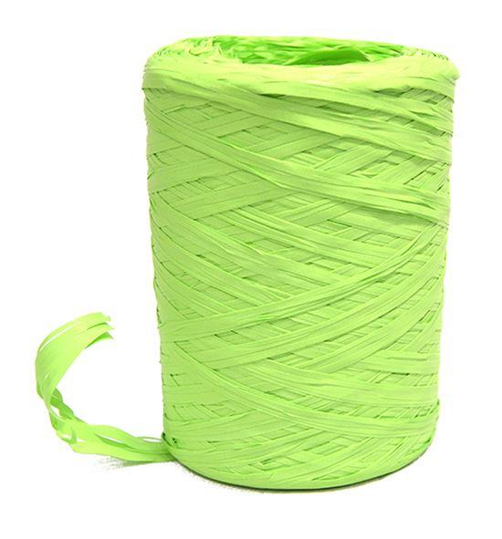 Bobina de rafia verde lima - BM-80-10