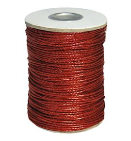 Cordon metalico rojo - BM-120