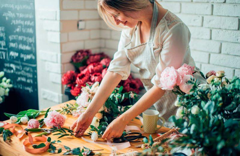combinar colores flores