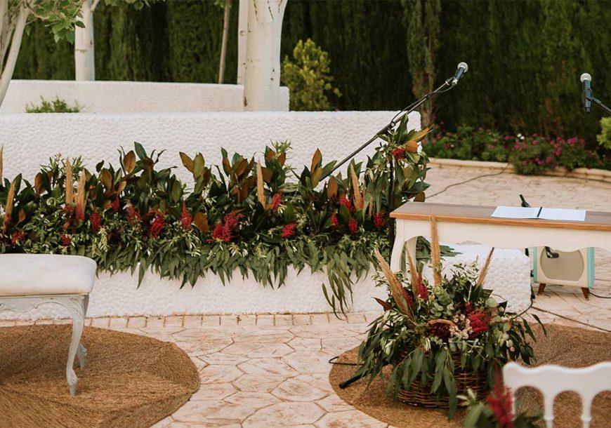 Tendencias en decoración floral de bodas 2019